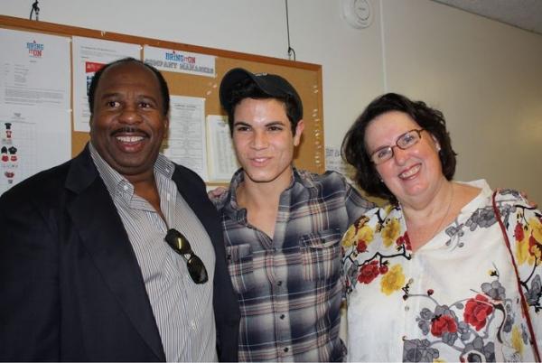 Leslie David Baker, Jason Gotay, Phyllis Smith Photo