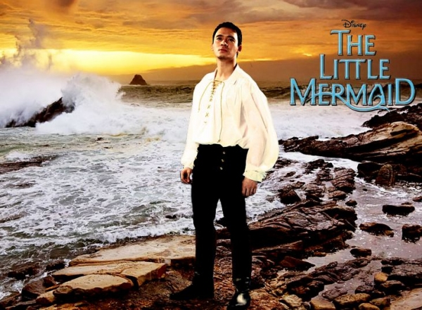 Erik Santos at Meet the Cast of Manila's THE LITTLE MERMAID
