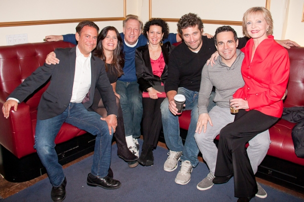 Eugene Pack, Dayle Rayfel, Alan Zweibel, Susie Essman, Craig Bierko, Mario Cantone, and Florence Henderson