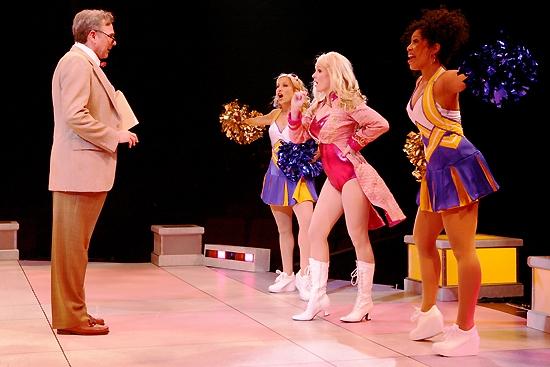 Kevin Priseau (Winthrop), Tiffany Engen (Serena), Kelly Felthous (Elle Woods) Allysa Shorte (Pilar)