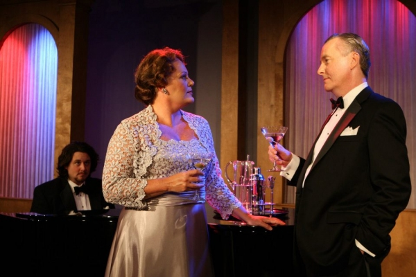 """""""Noël and Gertie"""" traces the lives and friendship of Noël Coward and Gertrude Lawrence and includes scenes from their stage appearances, including Coward's """"Private Lives."""" Melinda MacDonald and Robert Gibby Brand star in the title roles."""