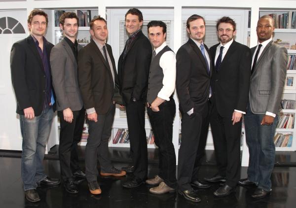 (LtoR) Toby Leonard Moore, Jake O'Connor, Jonathan Berry, Gabriel Ebert, Mike DiSalvo, James McMenamin, Andrew Hinderaker & Corey Hawkins