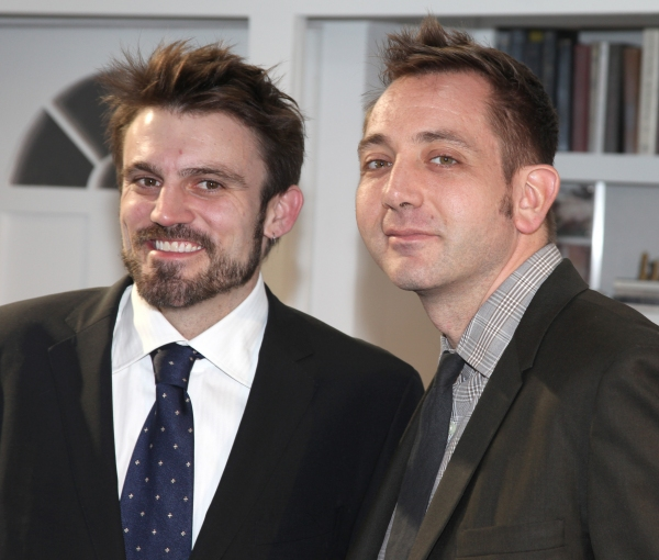 Playwright Andrew Hinderaker & Director Jonathan Berry
