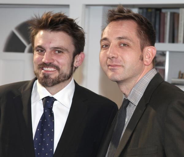 Playwright Andrew Hinderaker & Director Jonathan Berry Photo