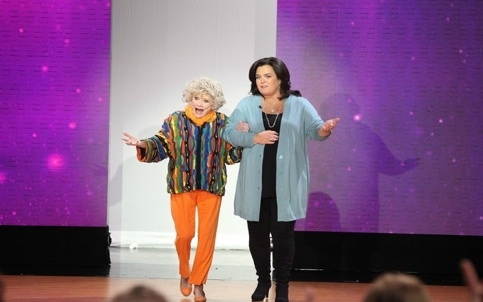 Phyllis Diller & Rosie O'Donnell at THE ROSIE SHOW Pays Tribute to Comedic Legend,  Phyllis Diller