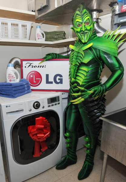 Photo Flash: SPIDER-MAN's Green Goblin Gets Energy Efficient