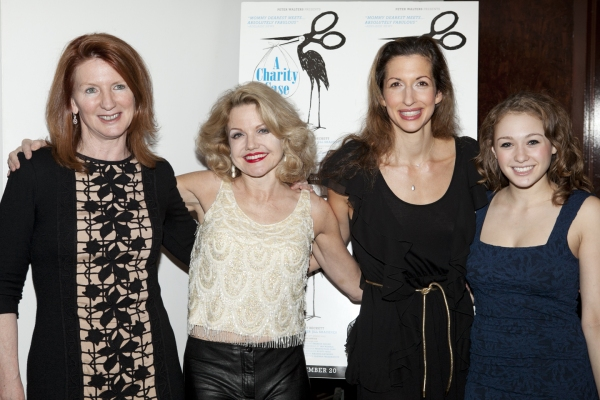 Wendy Beckett, Alison Fraser, Alysa Reiner and Jill Shackner