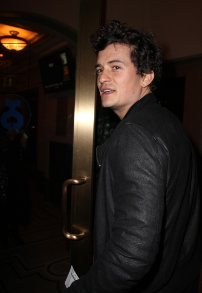 Orlando Bloom at OTHER DESERT CITIES Starry Opening Night Theatre Arrivals