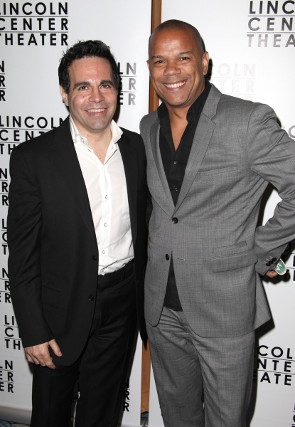 Mario Cantone & Jerry Dixon  at OTHER DESERT CITIES Opens on Broadway - After Party!