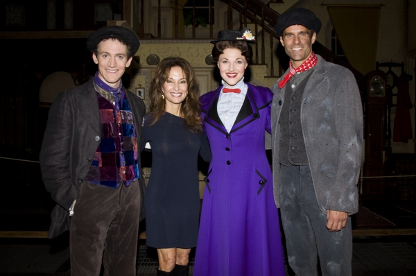 Case Dillard,  Susan Lucci, Steffanie Leigh, Cameron Matthison at Cameron Mathison Makes Cameo in MARY POPPINS!