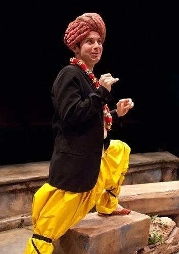 Jonathan Spivey as Malvolio Photo