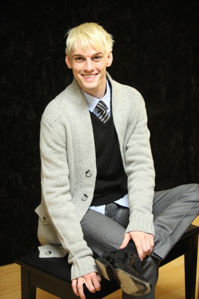 Photo Coverage: Aaron Carter in Rehearsal for THE FANTASTICKS!