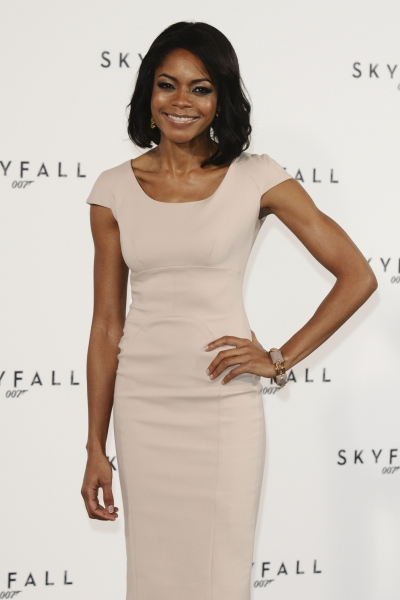 Naomie Harris at Filming to Begin on James Bond Film SKYFALL