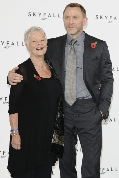 Dame Judi Dench and Daniel Craig