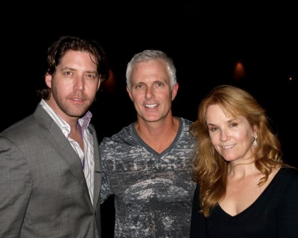 James Barbour, Patrick Kennedy and Lea Thompson at Before and After Broadway Rocks Anaheim 2011!