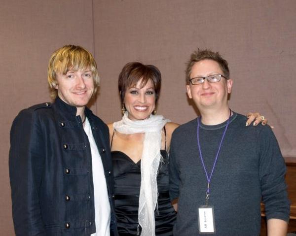 Jonny Morrow, Jill Marie Burke and Brent Crayon