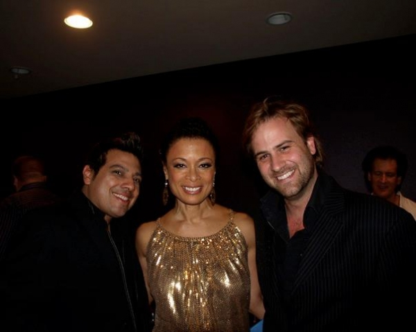 Devis Andrade, Kelli Provart and James C Mulligan at Before and After Broadway Rocks Anaheim 2011!