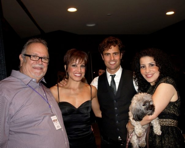 Ronn Goswick, Jill Marie Burke, David Burnham, Pepper and Julie Garnye