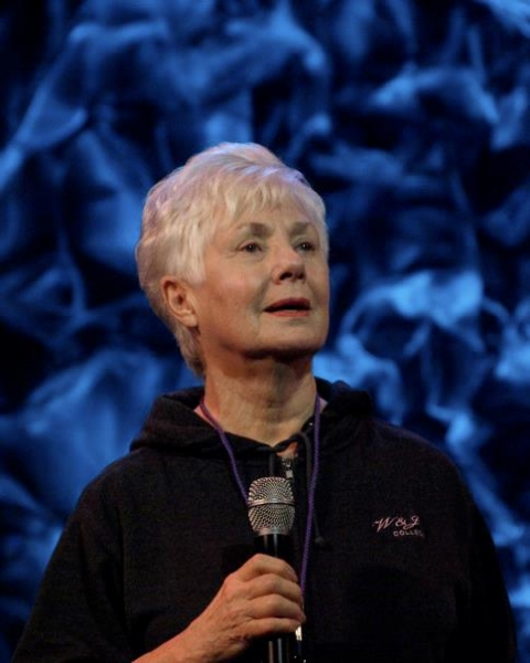 Shirley Jones at Before and After Broadway Rocks Anaheim 2011!
