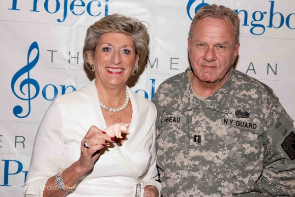 Pam Laudenslager (Green Acres) & Peter LeBeau (You're in the Army Now)