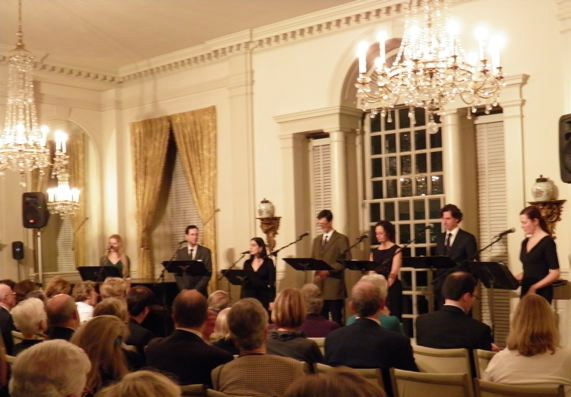 Back row-David M. Lutken, Barbara Walsh, Tony Wolf. Front row- Jennifer Stepanyk, Annmarie Benedict, Stephanie D'Abruzzo, Dan Cordle, Bill Connington