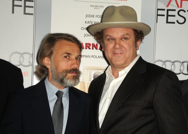 Nov. 5, 2011 - Los Angeles, California, U.S. - Christoph Waltz, John C.. Reilly Atten Photo