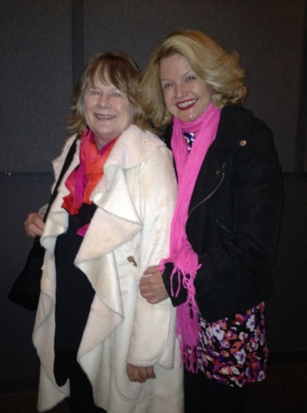 Shirley Knight and Alison Fraser