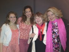 Jill Shackner, Alysia Reiner, Shirley Knight and Alison Fraser
