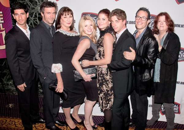 Raza Jaffrey, Jack Davenport, Anjelica Huston, Megan Hilty, Debra Messing, Christian  Photo