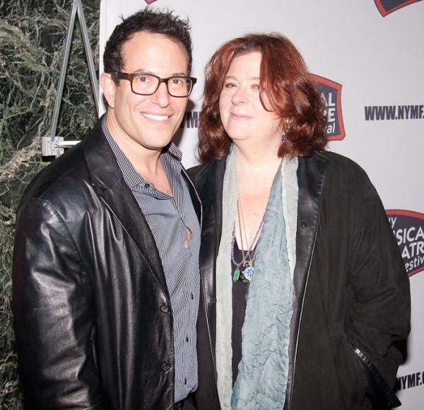 Michael Mayer and Teresa Rebeck Photo