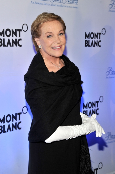 NEW YORK, NY - NOVEMBER 01:  Julie Andrews attends Princess Grace Awards Gala at Cipriani 42nd Street on November 1, 2011 in New York City.  (Photo by Stephen Lovekin/Getty Images for Princess Grace Foundation) *** Local Caption *** Julie Andrews at Julie Andrews, Anne Hathaway, et al. at 2011 Princess Grace Gala