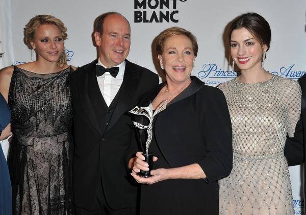 Photo Flash: Julie Andrews, Anne Hathaway, et al. at 2011 Princess Grace Gala