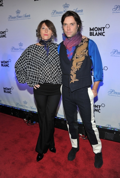 NEW YORK, NY - NOVEMBER 01:  Martha Wainwright and Rufus Wainwright attend MONTBLANC Launches Collection Princesse Grace De Monaco at  the Princess Grace Awards Gala at Cipriani 42nd Street on November 1, 2011 in New York City.  (Photo by Stephen Lovekin/