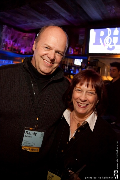 NAMT Board Member Randy Adams with Gigi Bolt