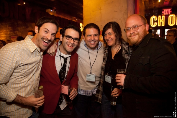 Lance Rubin, writer Joe Iconis, director John Simpkins, Ashley Rodbro, Jason 'SweetTooth' Williams