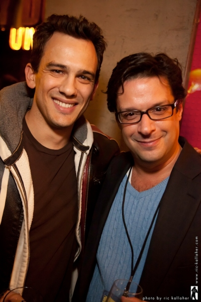 Photo Flash: Adam Gwon, Kate Wetherhead, et al. at Festival of New Musicals Party