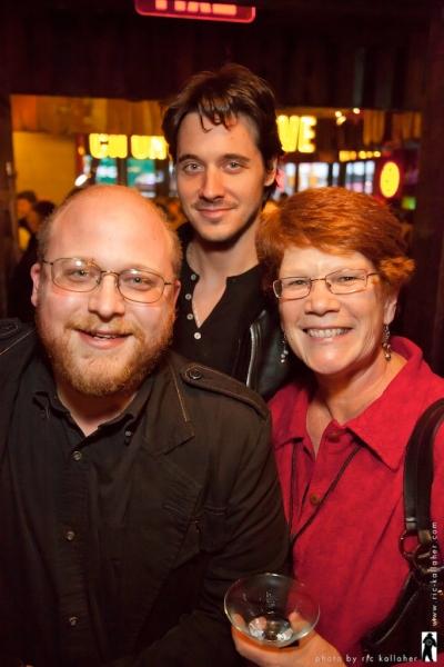 Jason 'SweetTooth' Williams, Heath Calvert, NAMT Member Sue Frost