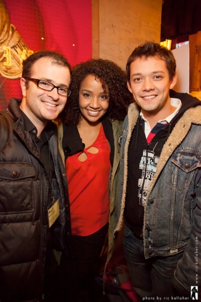 Rich Silverstein, Stephanie Umoh and Robi Hager Photo