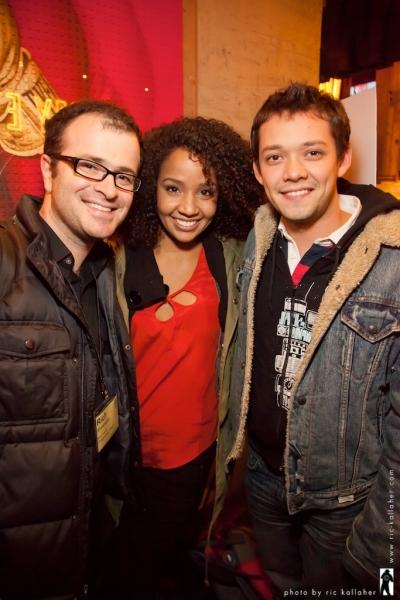 Rich Silverstein, Stephanie Umoh and Robi Hager