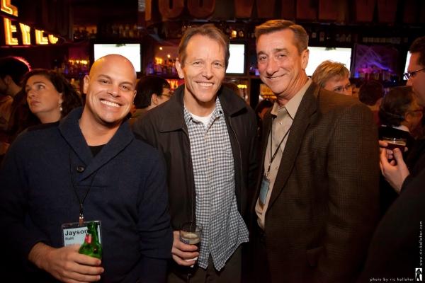 Jayson Raitt, Stephen Bogardus and NAMT Board Member Denny Reagan Photo