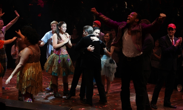 Hunter Parrish & Company with Christopher Gattelli, Stephen Schwartz & Ken Davenport
