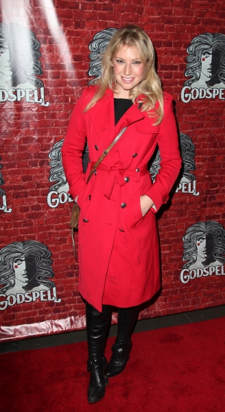Ari Graynor  at GODSPELL Opening Night Arrivals