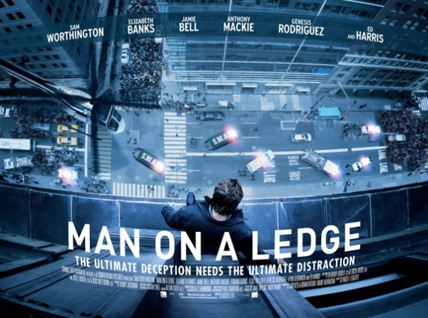 Photo Flash: First Look - MAN ON A LEDGE Movie Poster Revealed