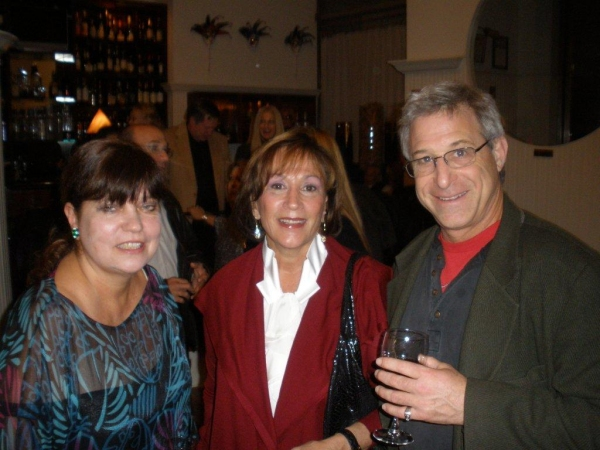 Awards producer Patricia Watt, Lynn Surry, Dan Whitten