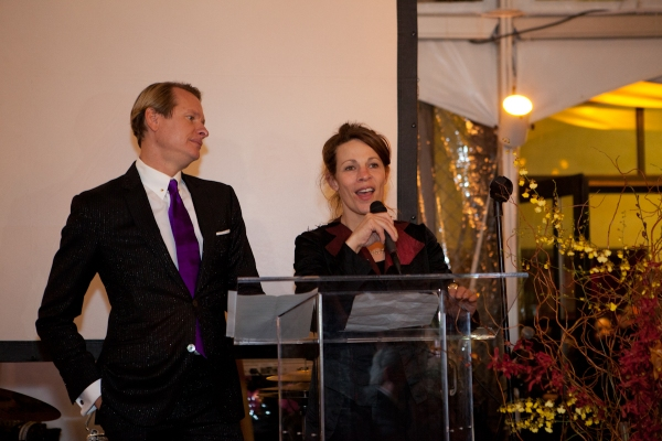 Carson Kressley and Lili Taylor at Carson Kressley, et al. Celebrate Aids Service Center