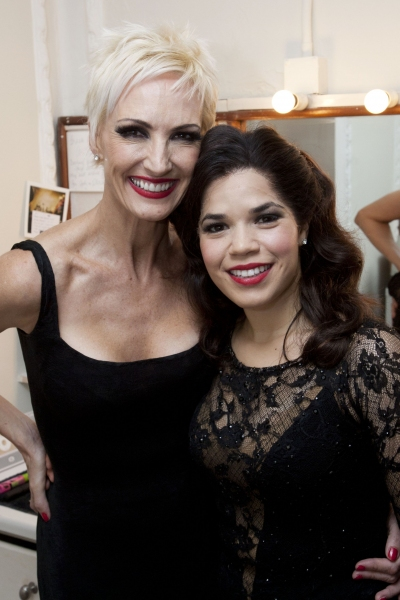Amra-Faye Wright  and America Ferrera
