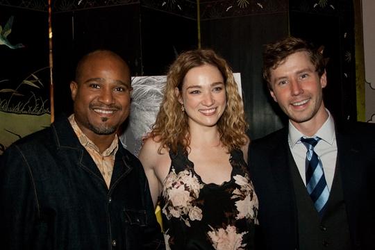 Seth Gilliam, Kristen Connolly, Michael Izquierdo Photo