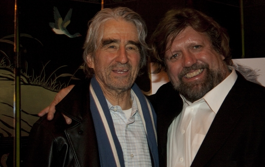 Sam Waterston and Oskar Eustis
