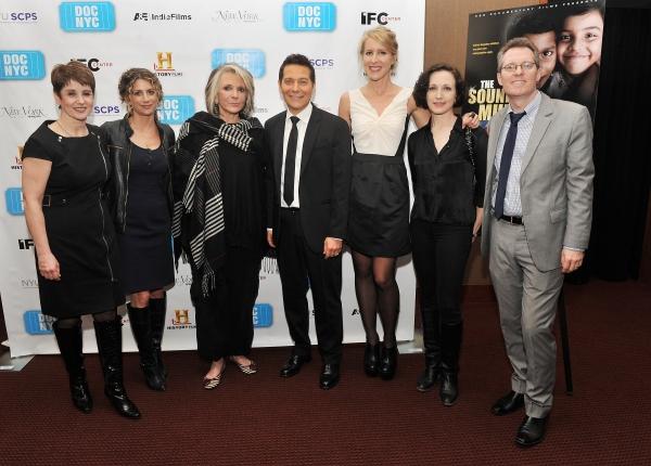 Leslie Stifelman, Sara Bernstein, Sheila Nevins, Michael Feinstein, Sarah McCarthy, Bebe Neuwirth, and Thom Powers