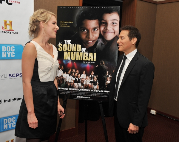 Photo Flash: Bebe Neuwirth, Michael Feinstein, et al. at  SOUND OF MUMBAI Premiere